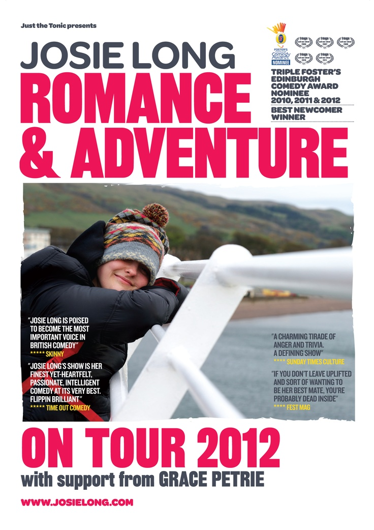 Josie Long – Romance & Adventure