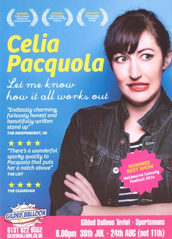 Celia Pacquola – Let Me Know How It All Works Out