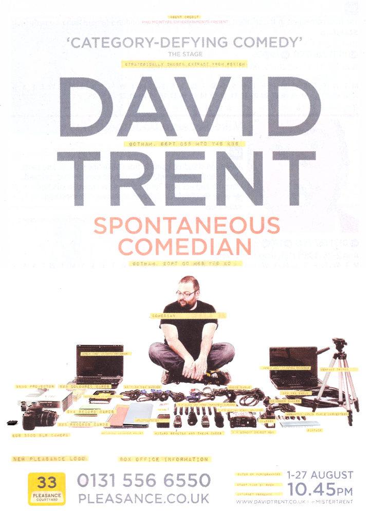 David Trent – Spontaneous Comedian