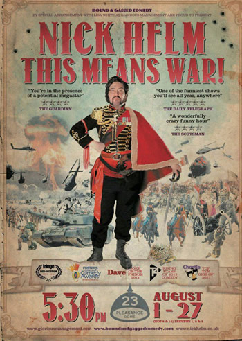 Nick Helm – This Means War