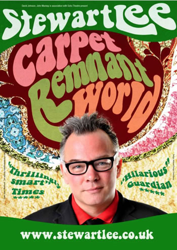 Stewart Lee – Carpet Remnant World