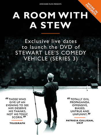 Stewart Lee 'Flags' Standup Routine for Free Download