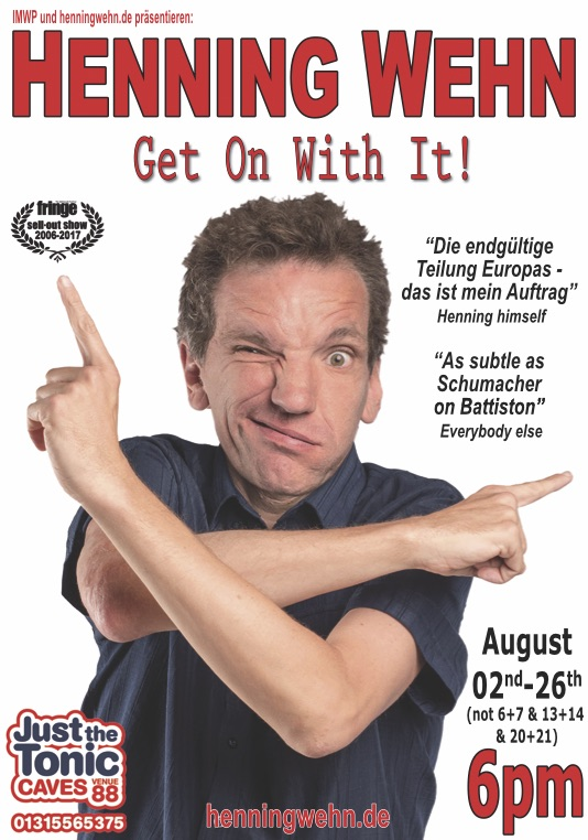 Henning Wehn – Get On With It.
