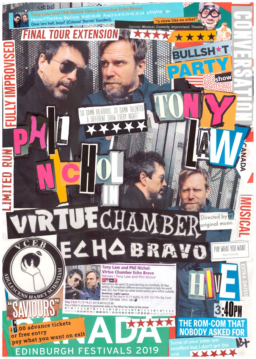 Phil Nichol & Tony Law – Virtue Chamber Echo Bravo