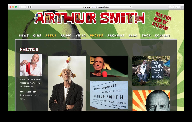 Arthur Smith - www.arthursmith.co.uk
