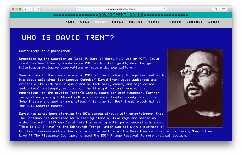 David Trent - www.davidtrent.co.uk