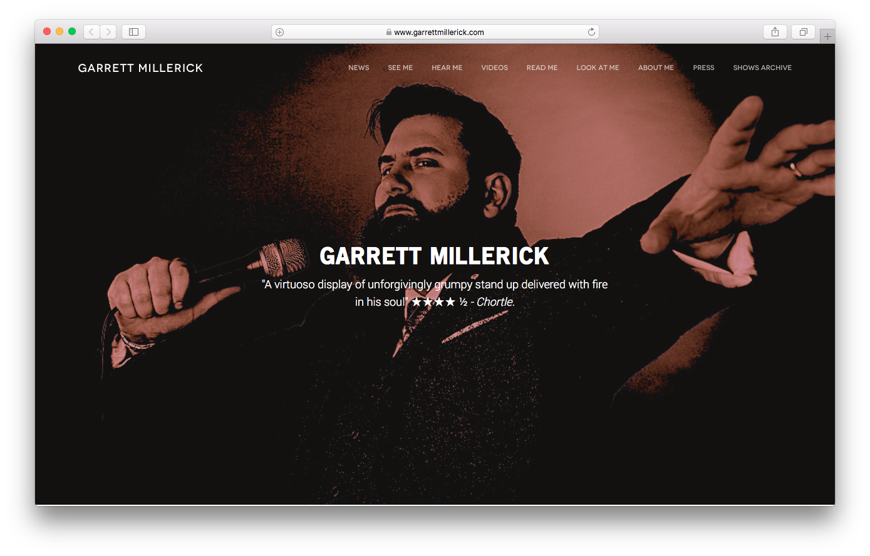 Websites - Garrett Millerick