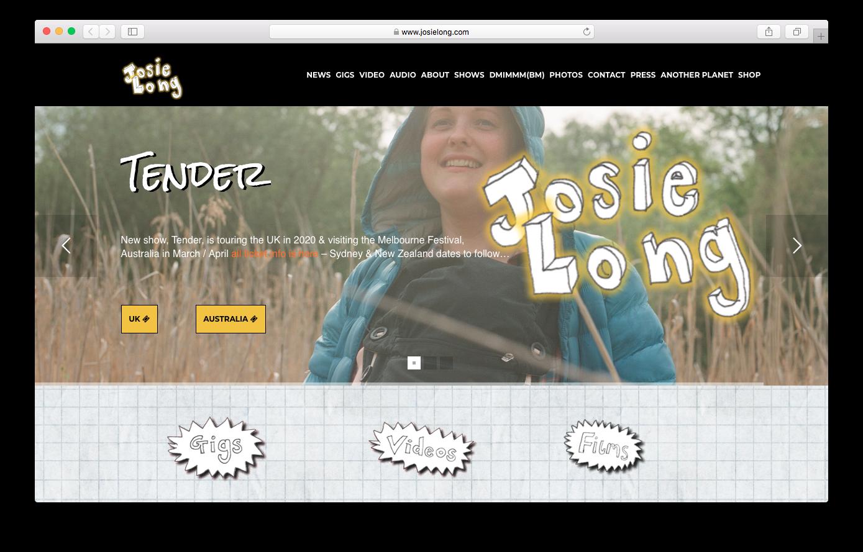 Josie Long - www.josielong.com
