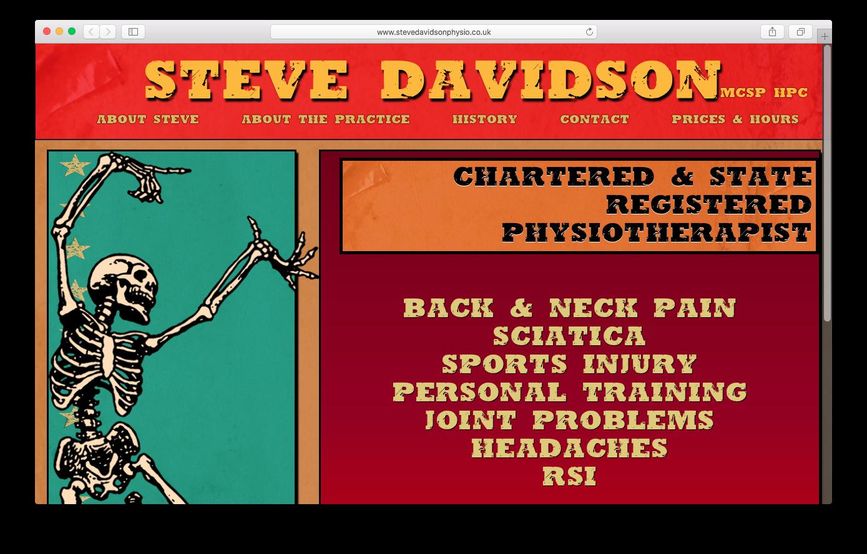 Steve Davidson - www.stevedavidsonphysio.co.uk