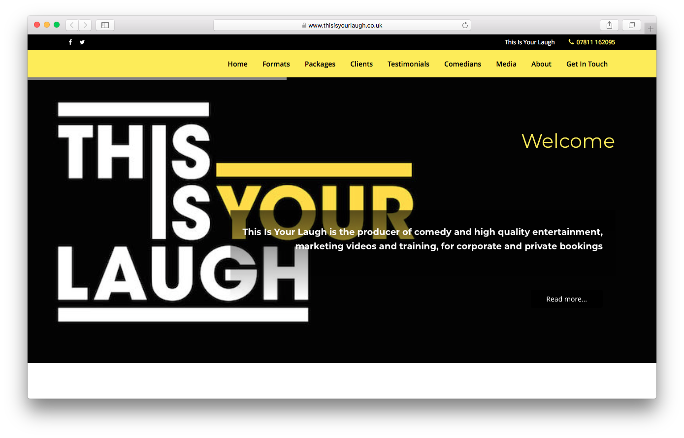 This Is Your Laugh - www.thisisyourlaugh.co.uk