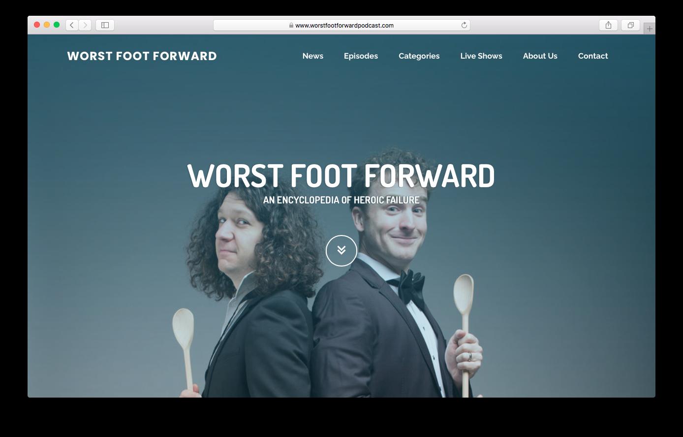 Websites - Worst Foot Forward